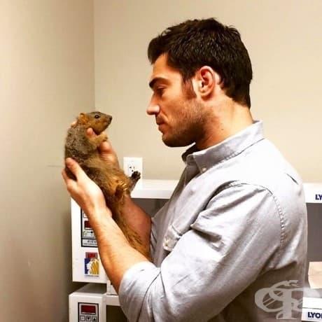 """""""Мисля, че работата с животни е нещо, от което всеки човек може да извлече огромна полза."""""""