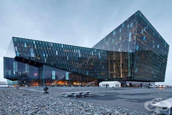 Концертна зала в Рейкявик, Исландия