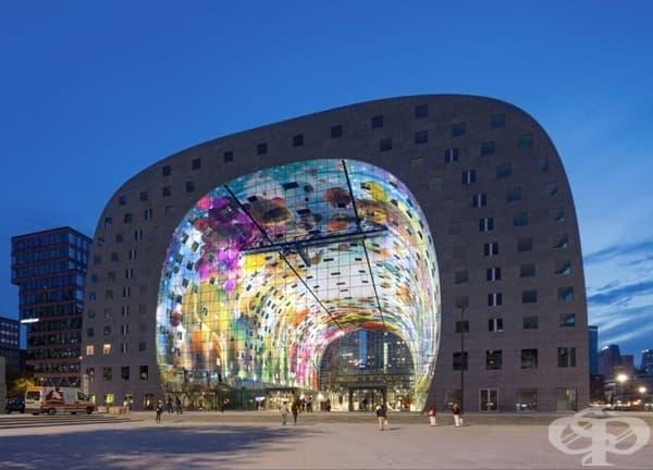 Търговски център в Ротердам, Холандия