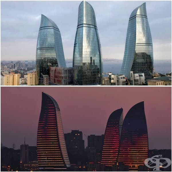 Огнените кули, Баку, Азербайжан