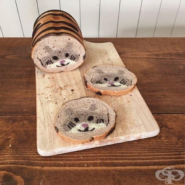 Японка пече невероятни хлябове за своето дете