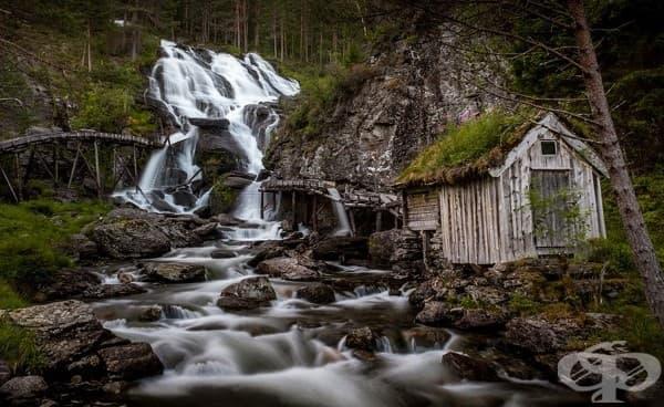 Водопадът Кведнафосен, Норвегия