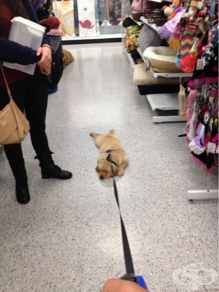Пазаруването е изтощително.