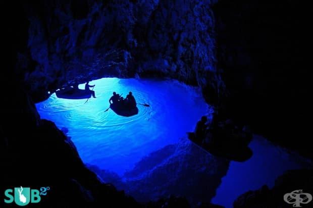 Синята пещера в Хърватска