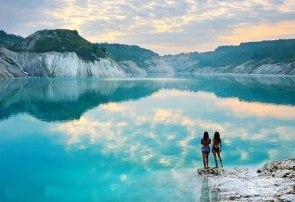 Соленото езеро в Волковиск, Беларус