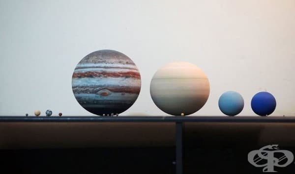 3D-принтирана слънчева система, която се побира на масата ви