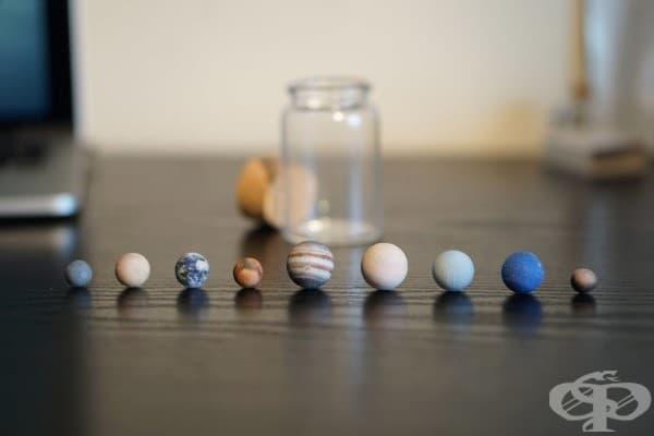 Слънчевата система в шише