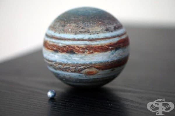 Юпитер и Земята