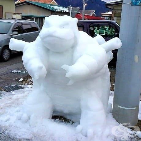 26 уникални и артистични снежни скулптури от креативни японци