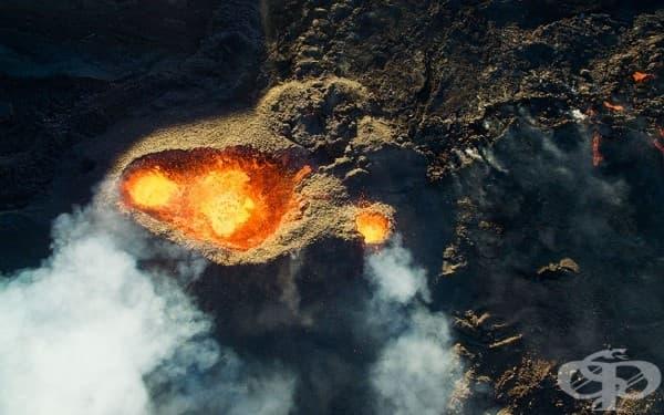 3-та награда – категория Природа: Вулканът Питон де ла Фурнезе