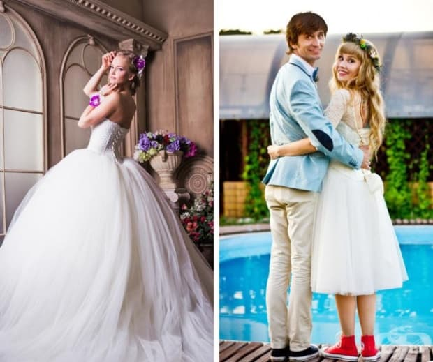Сватбата може да бъде претруфена или ярка и истинска.