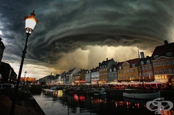 Небесата се отварят, Копенхаген, Дания
