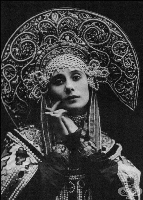 Руска прима балерина.