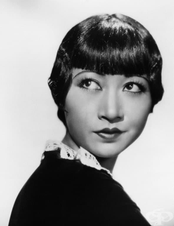 Първата китайска американска филмова звезда в Холивуд.