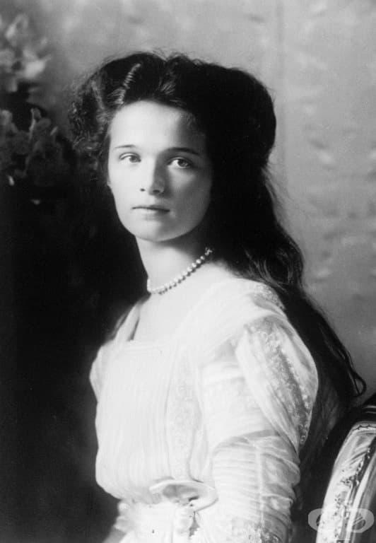 Най-голямата дъщеря на последния руски цар Николай II, чието семейство бе заклано от болшевиките в Екатеринбург, Русия.