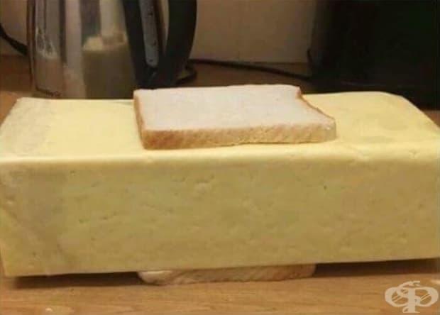 """Няма такова нещо като """"твърде много сирене""""."""