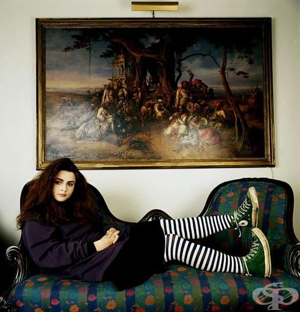 20-годишната Хелена Бонам Картър, 1986 г.