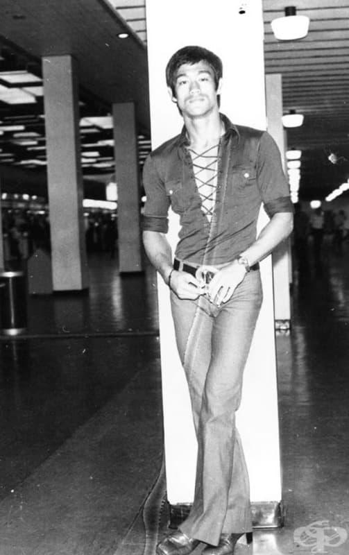 Брус Лий през 70-те години.