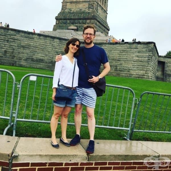 Това трябваше да бъде снимка на Статуята на свободата.