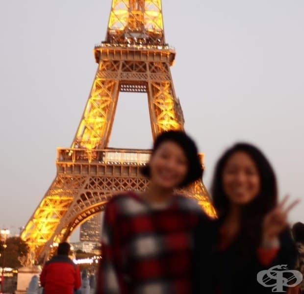 Айфеловата кула изглежда красива!