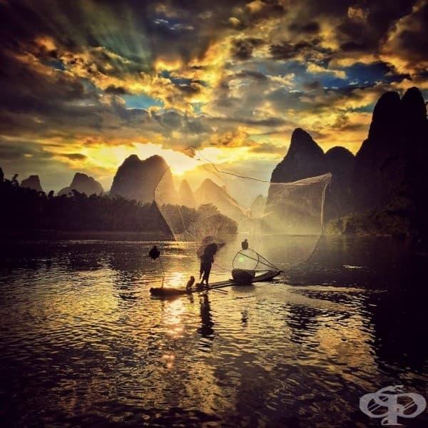 Йонгмей Уанг, Китай – 2 място, категория Залез