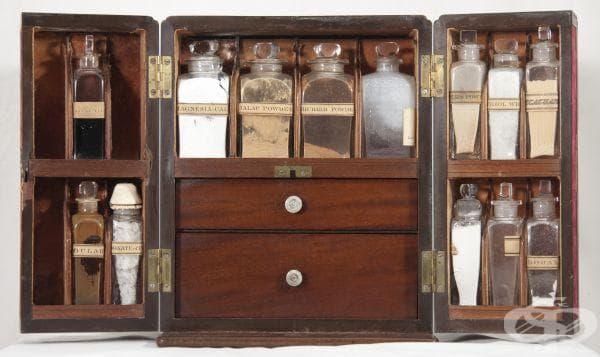 Медицинското сандъче било донесено от Шотландия в Канада от Джордж Малок през 1838г. – уважаван адвокат и съдия.