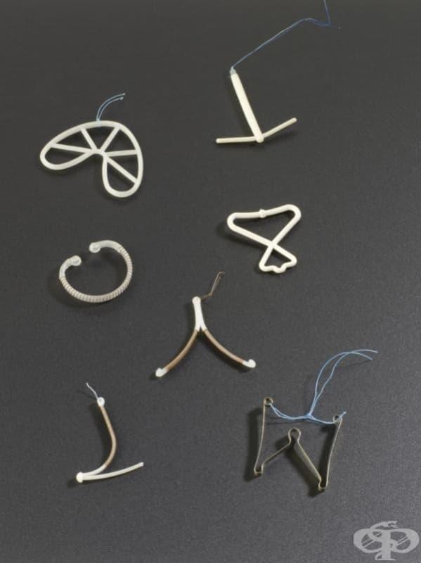 """Вътрематочни спирали с марка """"Copper-7"""" от 1970 година"""