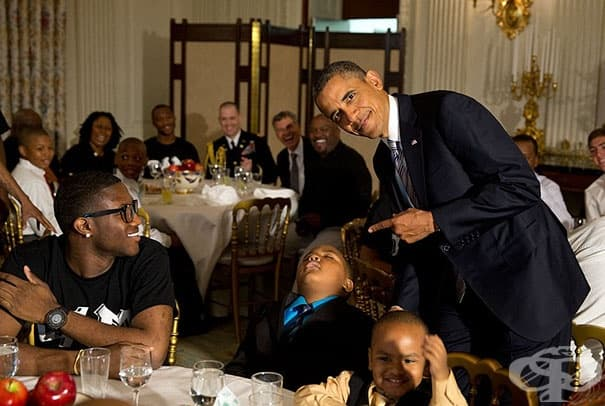 Да подремнеш пред президента.