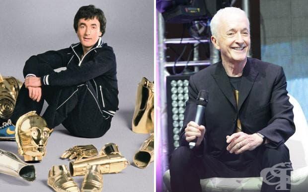 Антъни Даниелс (С - 3Рo), 1977 и 2015 г.