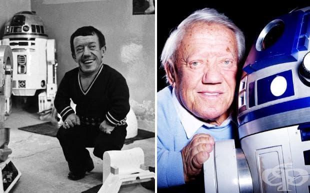 Кени Бейкър (R2 -D2), 1977 и 2015 г.