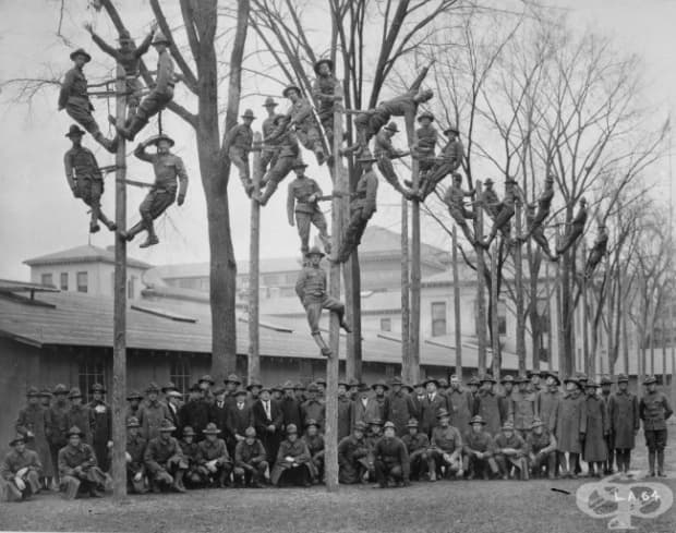 Военни електротехници, 1918 г.