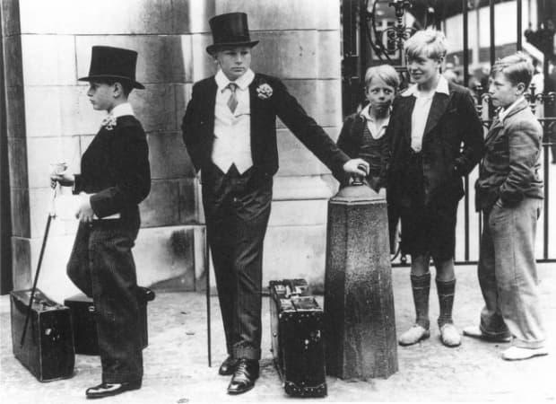 Класови различия, Великобритания, 1937 г.