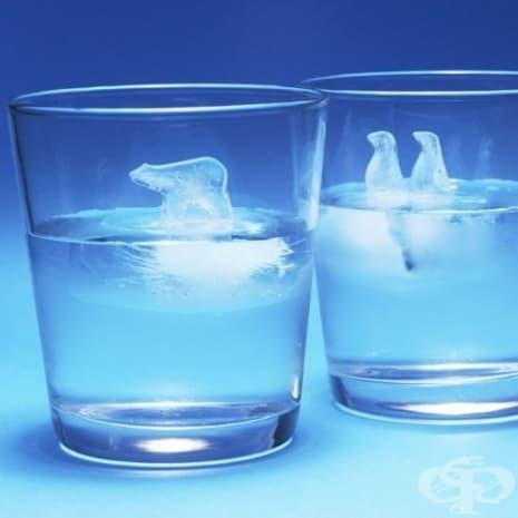Ледчета, които могат да превърнат коктейла ви в арктични пейзажи