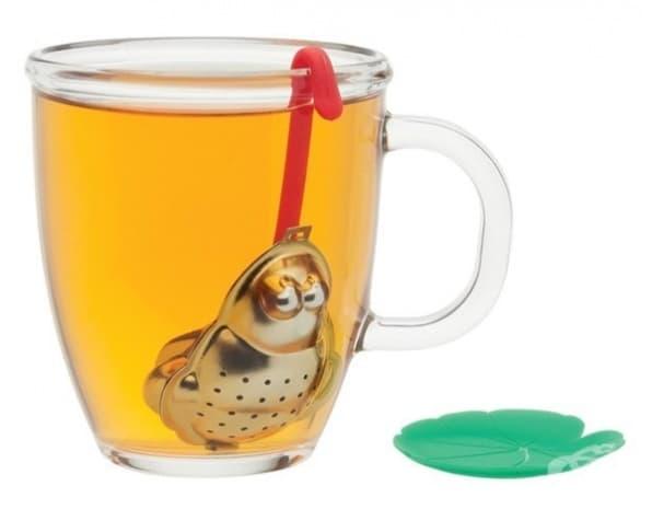 Жабка, в която да поставите чая