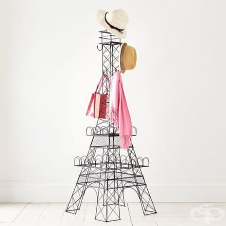 Айфеловата кула като закачалка