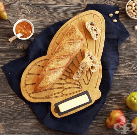 Поставка за хляб под формата на пеперуда
