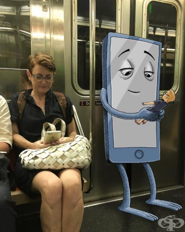 В метрото живеят странни създания, твърди Бен Рубин, американски художник