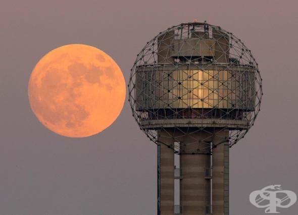 17 поразителни снимки на вчерашната супер луна