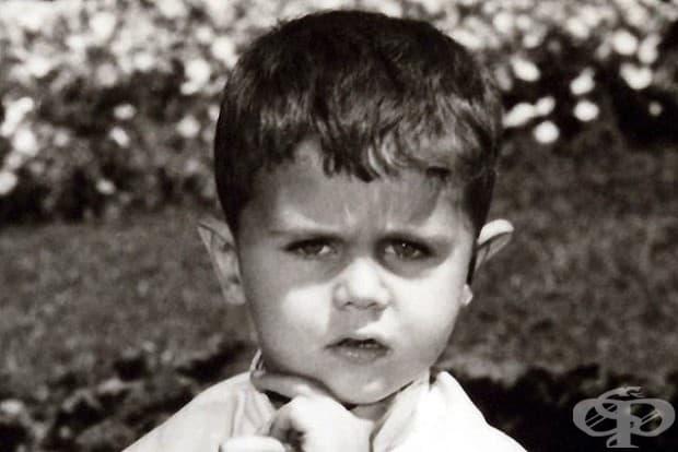 Башар ал-Асад като дете, сега президент на Сирия