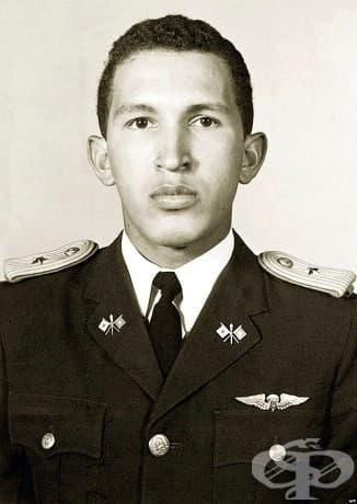 Уго Чавес във военната академия