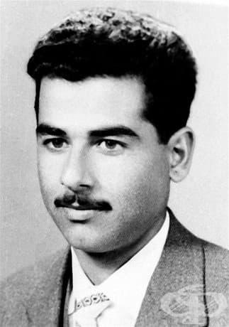 Младият Саддам Хюсеин, бившият президент на Ирак