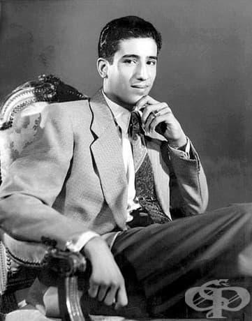 Крал Салман от Саудитска Арабия на 19, през 1954 г.