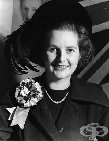 """Младата Маргарет Тачър, ака """"Желязната лейди"""", бившият министър-председател на Обединеното кралство"""