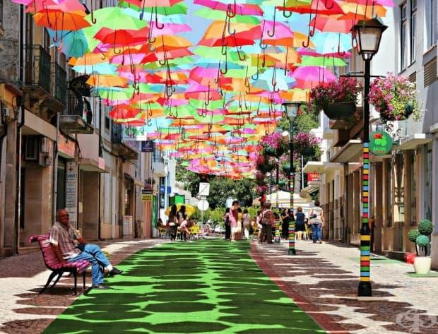 Мери Попинс много би харесала тази улица в Португалия