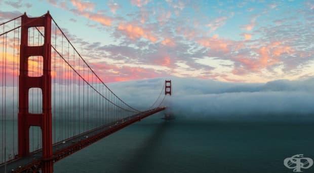 Цунами от мъгла, Сан Франциско