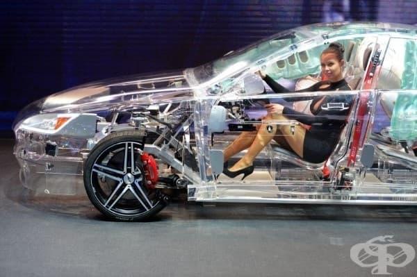 Прозрачна акрилна кола