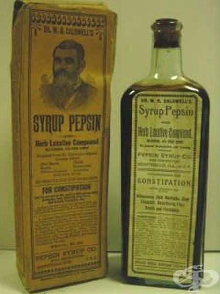 Сироп с лаксативно действие от 1889 година