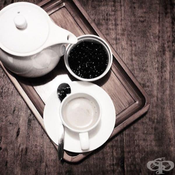 Тайван - Този чай може да се сервира както студен, така и горещ. Неговата основна съставка са топчета от тапиока.