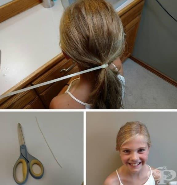 Когато дъщеря ти иска да я вържеш на опашка и се наложи да импровизираш