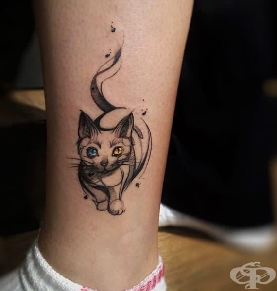 15 от най-добрите идеи за татуировки с котки